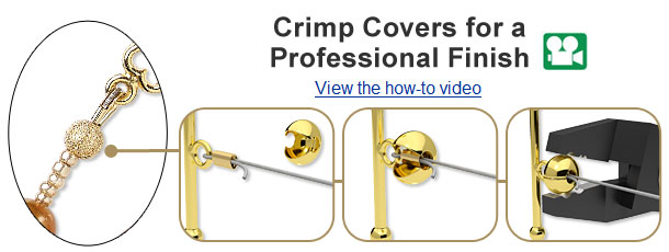 Using Crimp Covers How-To Video and Illustrated Instructions