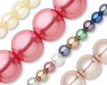 Round Celestial Crystal Pearls