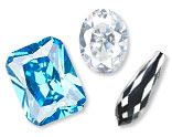 Cubic Zirconia Beads and Components