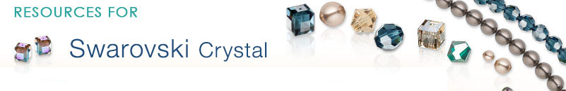 Swarovski® Crystal Bead Patterns and Jewelry-Making Resources