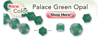 NEW Swarovski® Color - Palace Green Opal: Shop Now