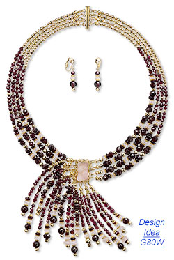 Colorful Gemstone Bridal Jewelry