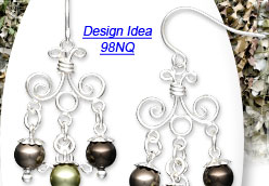 Design Idea 98NQ Earrings