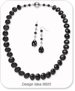 Design Idea 9B05 Necklace and Earring Set