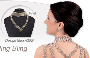 Design Idea A35G Collar-Style Necklace