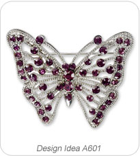Design Idea A601 Brooch