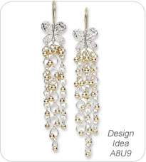 Design Idea A8U9 Earrings