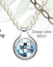 Design Idea B8AD Necklace and Earring Set
