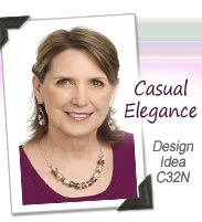 Design Idea C32N Necklace and Earrings