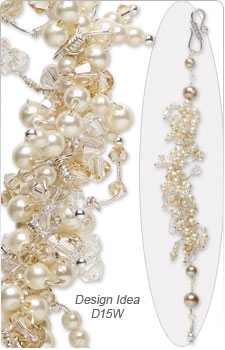 Design Idea D15W Dress Accessory and Earring Set