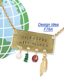 Design Idea F76A Necklace and Earrings
