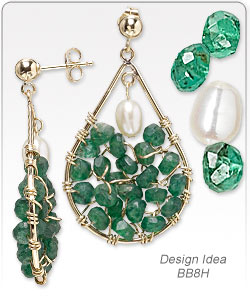 Emerald Green Bridal Jewelry