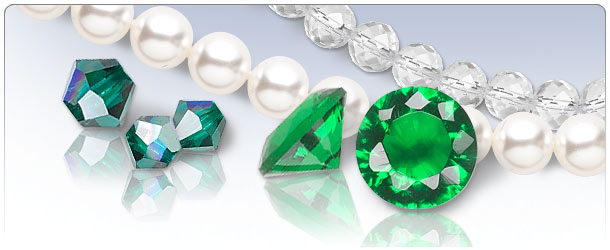 Emerald Green Bridal Jewelry  sc 1 st  Fire Mountain Gems & Wedding Pearls of Wisdom - Emerald Green Bridal Jewelry - Fire ...