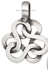 Item Number H20-9224JD Interlocking Infinity Pendant
