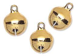 Gold-Plated Brass Bells