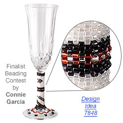 Personalized Champagne Flutes for Wedding Toasts