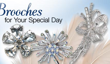 Brooches for Your Special Day