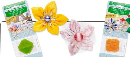 Kanzashi Flower Templates