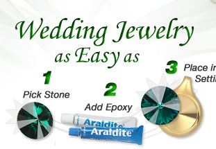 Wedding Jewelry as Easy as 1-2-3