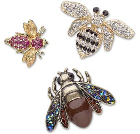 Honey Bee Beads and Components