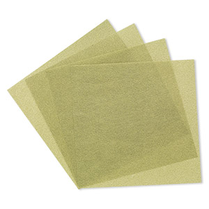 3m™ wetordry™ polishing paper, silicon carbide, green, 400 grit, 5x5-inch square. sold per pkg of 4.