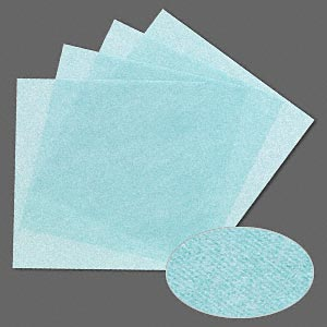 3m™ wetordry™ polishing paper, silicon carbide, mint green, 6000 grit, 5x5-inch square. sold per pkg of 4.