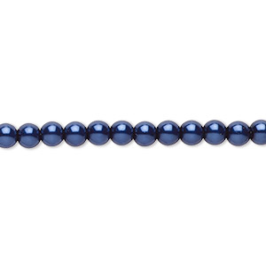 100 3mm Round Czech Glass Pressed Druk Beads Opaque Purple Iris Metallic
