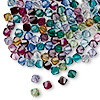 Bead, Swarovski crystal, Crystal Passions®, Birthstone, 4mm Xilion bicone (5328). Sold per pkg of 144 (1 gross).