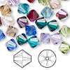 Bead, Swarovski crystal, Crystal Passions®, Birthstone, 8mm Xilion bicone (5328). Sold per pkg of 144 (1 gross).