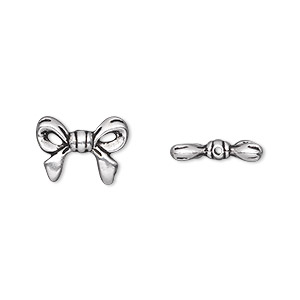 60 Antiqued Silver Plated Pewter Dragonfly Beads 8MM