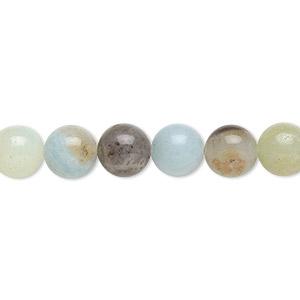 approx. 46 beads B Grade 8mm Multicolour Amazonite Round Beads