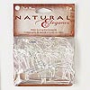 Beading hoop, Blue Moon Beads®, silver-finished steel, assorted diamond. Sold per pkg of 52.
