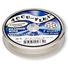 Beading wire, Accu-Flex®, .925 sterling silver, 7 strand, 0.014-inch diameter. Sold per 30-foot spool.
