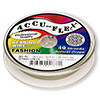 Beading wire, Accu-Flex®, Spring green, 49 strand, 0.014-inch diameter. Sold per 30-foot spool.