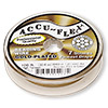 Beading wire, Accu-Flex®, high tension, 24Kt gold-plated, 7 strand, 0.0083-inch diameter. Sold per 100-foot spool.
