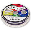 Beading wire, Accu-Flex®, plum purple, 49 strand, 0.024-inch diameter. Sold per 30-foot spool.