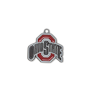 NCAA® Louisiana State University Tigers 19x18mm Pewter Charm 2 Per