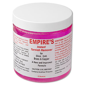 Cleaner, Empire's Instant Tarnish Remover. Sold per 8-ounce jar.