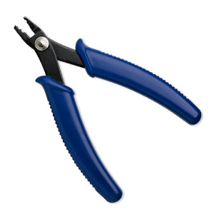 1x Professional Steel Crimping Crimper Pliers Tool for End Crimps Jewelry Tool