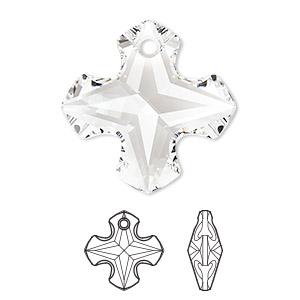 Swarovski Greek Cross Pendant - 6867 Charms, Pendants and