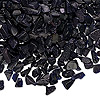 Embellishment, blue goldstone (manmade), undrilled mini chip. Sold per pkg of 50 grams.