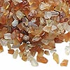 Embellishment, red agate (dyed / heated), mini to small undrilled chip, Mohs hardness 6-1/2 to 7. Sold per 50-gram pkg.