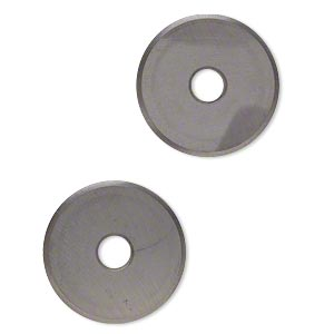 Replacement glass nipper wheels, steel. Sold per 2-piece set.