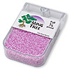 Seed bead, Ming Tree™, glass, ceylon lilac, #11 round. Sold per pkg of 1/4 pound.