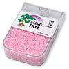 Seed bead, Ming Tree™, glass, ceylon pink, #11 round. Sold per pkg of 1/4 pound.