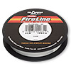 Thread, Berkley® FireLine® Crystal™, gel-spun polyethylene, crystal, 0.08mm diameter, 2-pound test. Sold per 125-yard spool.