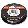 Thread, Berkley® FireLine®, gel-spun polyethylene, smoke, 0.06mm diameter, 1-pound test. Sold per 125-yard spool.