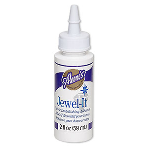 adhesive, aleenes jewel-it. sold per 2-fluid ounce bottle.