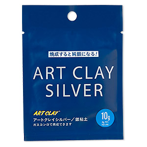 art clay silver, low fire, slow dry formula. sold per 10-gram pkg.