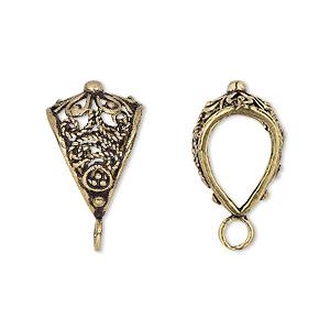 Gold pendant bails fire mountain gems and beads 2 bail pkg aloadofball Gallery